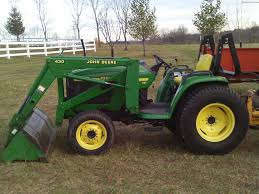 what is the best john deere 4400 tractor
