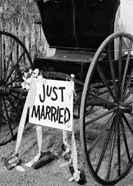 Congratulations On Your Wedding Day Congratulations On Your Wedding Day B U0026w Photo Of Cart With Just
