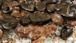 easy mushroom gravy recipe by simple chopped steak with mushroom gravy intelligent domestications