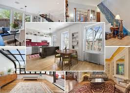 Greek Home Interiors by Brooklyn Homes For Sale A Rustic Row House And A Greek Revival