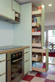 astounding pull out pantry storage units on tall custom kitchen