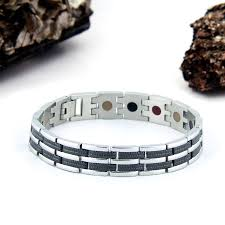 bracelet magnetic wrist images Stainless steel negative ion bracelet by p rlife jpg