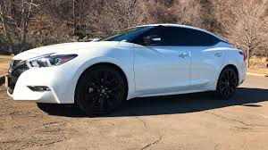 nissan maxima midnight edition for sale 2017 nissan maxima sr midnight sunny day youtube