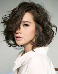 haitr style for thick black hair 65 years old messy short dark brown haircuts for wavy thick hair hair face