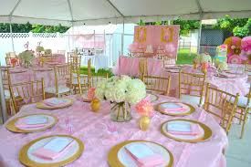 pink and gold baby shower ideas baby shower party ideas photo 9 of 12 catch my party