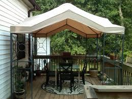 Lowes Patio Gazebo Lowes 10 X 10 Garden Treasures Replacement Canopy Garden Winds