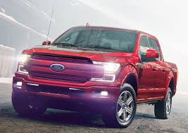 new ford truck ford at the detroit auto show 2018 f 150 gets new styling and a