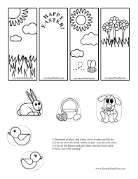 kids fun activities book print printable bookmarks for easter in