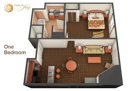 one bedroom suite in las vegas club de soleil
