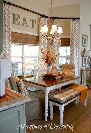 kitchen nook decorating ideas adventures in decorating curtains and the connection to the family