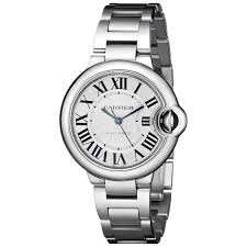 cartier watches bracelet images Shop cartier women 39 s w6920071 ballon bleu round silver bracelet jpg