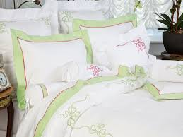 french bow fine bed linens luxury bedding italian bed linens