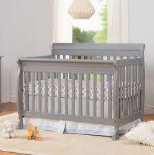 Grey Convertible Cribs Davinci Kalani 4 In 1 Convertible Crib Grey Finish Babies R Us