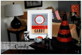 Printable Halloween Countdown Calendar Detail Oriented Diva Countdown To Candy