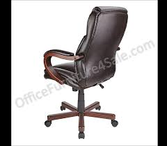 Office Furniture Chairs Png Thomasville Outlet Bonded Leather High Back Chair Brown Sku