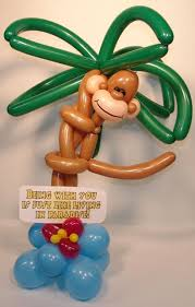 denver balloon delivery monkey balloon party favors ideas