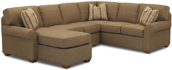 Sectional Sofa With Chaise Lounge Sectional Sofa Group With Left Chaise Lounge By Klaussner Wolf