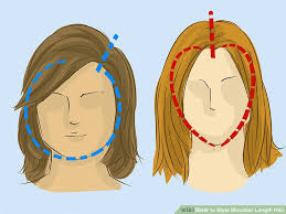 shoulder length 3 ways to style shoulder length hair wikihow
