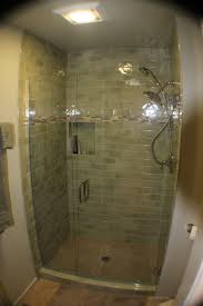 Bathroom Glass Shower Ideas by Graceful Bathroom Shower Ideas With Beige Tile Also Stainless