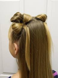 Easy Hairstyle For Girls by Beautiful Looped Clovers St Patrick U0027s Day Hairstyle Bonita