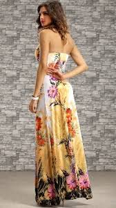 maxi kjole maxi kjole med blomster