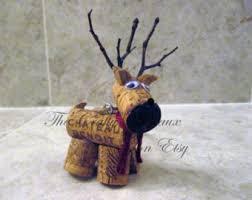 wine cork ornament etsy