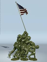 Flag Iwo Jima Flags Of Our Fathers Iwo Jima 1945 Toy Soldiers By