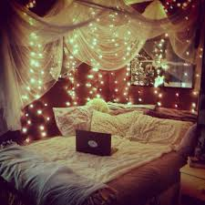 Best 25 Bed Canopy With Lights Ideas On Pinterest Pertaining To