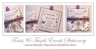 wedding invitation pouches laser cut invitations