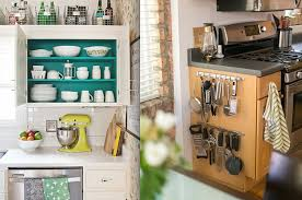 Storage Ideas For A Small Apartment 17 Ways To Squeeze A Little Extra Storage Out Of A Tiny Kitchen