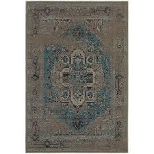 bungalow rose raiden grey teal area rug u0026 reviews wayfair