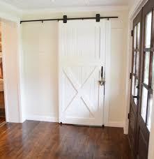 How To Cut Door Jambs For Laminate Flooring How To Hang A Barn Door Beneath My Heart
