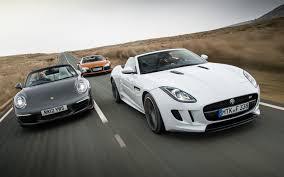 lexus vs v8 jaguar f type vs audi r8 vs porsche 911 automobile magazine