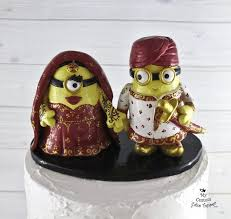 minion wedding cake topper 22 best and wedding cake topper images on