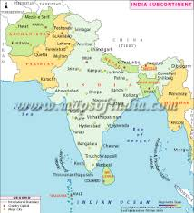 map of the countries neighbouring countries of india