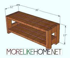 Large Storage Bench Storage Bench Plans Simplir Me