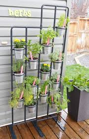 Ikea Outdoor Planters by Diy Herb Garden And Garden Markers Momadvice