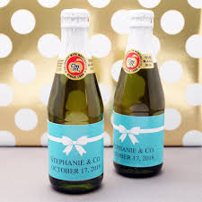 wholesale sparkling cider blue personalized mini sparkling cider personalized