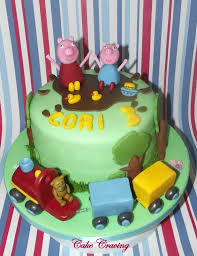 George Pig Cake Decorations 14 Best Peppa Pig And George Images On Pinterest Peppa Pig Pigs