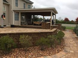 Paver Patio Nj Decks Millstone Township Nj Deck Builder Pictures Yannuzzi