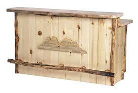 Pine Gun Cabinet Rustic Aspen Pine Log Pub Tables Log Gun Cabinets Log Lamps