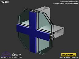 Metal Curtain Wall National Glass U0026 Metal Company Lupton Curtain Wall Systems