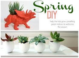 diy indoor planters for kids spring u2014 mamatoga
