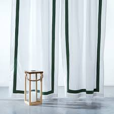 emerald border curtain buy green curtains online green sheer