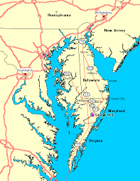 map of maryland delaware and new jersey directions to the river house inn snow hill maryland a national