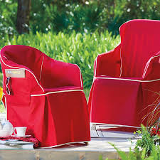 patio chair slipcovers padded resin chair cover
