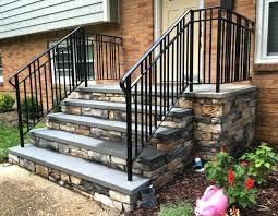 outdoor stair rail vinyl railing railings white ideas u2013 funnycats site