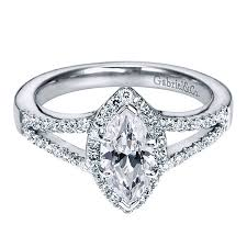 marquise halo engagement ring mavis 14k white gold marquise halo engagement ring er5878w44jj