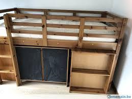 chambre enfant pin lit surélevé pour chambre enfant en pin massif dès 6 ans a