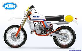 can am motocross bikes ktm 125 classic series look 1980 vintage off road bike